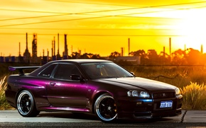 Picture Nissan, GT-R, Skyline, BNR34, V-spec