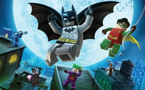 Wallpaper Batman, Heroes, LEGO