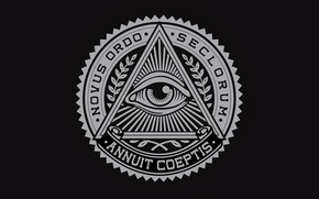 Wallpaper triangle, triangle, illuminati, masons