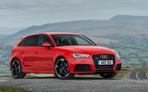 Wallpaper Audi, Audi, Sportback, UK-spec, 2015, RS 3