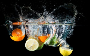 Picture water, squirt, lemon, orange, lime, citrus