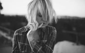 Picture mood, beauty, tattoo, manicure, Alysha Nett