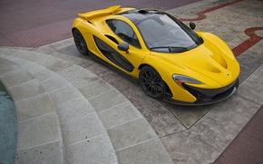 Picture McLaren, Car, Yellow, Super