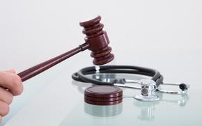 Wallpaper malpractice, medicine, justice, law