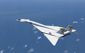 Picture the sky, flight, the plane, liner, North American, Valkyrie, XB-70