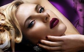 Picture actress, beauty, scarlett johansson