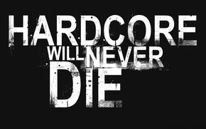 Picture black, die, hardcore