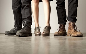 Picture The, Band, shoes, Lumineers