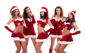 Picture costumes, holiday, girls