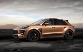 Picture car, Porsche, tuning, Ball Wed, Macan, Aurum, URSA
