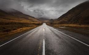 Picture storm, New Zealand, storm, New Zealand, South Island, South island, Southern Alps, the Canterbury region, ...