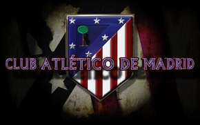 Picture logo, football, Spain, Atletico Madrid