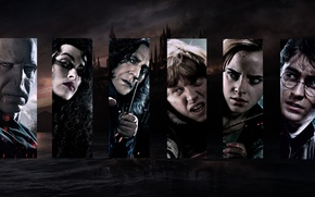 Picture Harry Potter, wizards, hp7