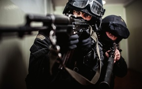 Picture special forces, AK-74, SBM, As Val