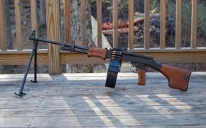 Picture weapons, 62 mm, Degtyareva, Machine gun