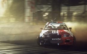 Picture car, sport, BMW, skid, drift, drift, bmw m3, rechange