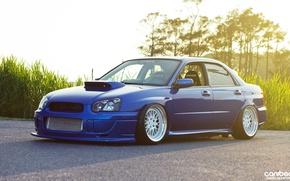 Picture tuning, blue, Subaru, canibeat, tunning, Subaru STI