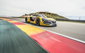 Wallpaper Renault, supercar, Reno, Sport, 2014, RS 01