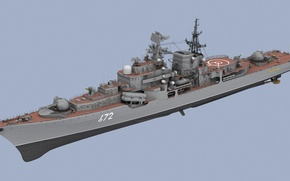 Picture Ship, Weapons, Destroyer