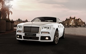 Picture Rolls-Royce, Coupe, Mansory, rolls-Royce, Wraith, Wright