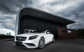 Wallpaper Mercedes-Benz, AMG, Coupe, 2014, S-Class, IMSA, С217