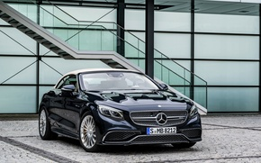 Picture Mercedes-Benz, convertible, Mercedes, AMG, Cabriolet, S-Class, A217
