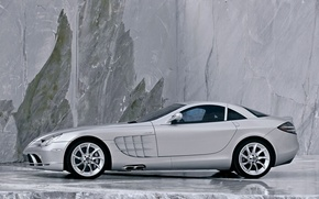 Wallpaper SLR, Mercedes, McLaren