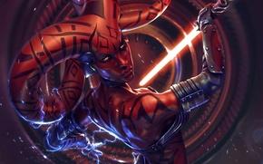 Wallpaper power, Star Wars, Star Wars, lightsaber, Twi'lek, Darth Talon