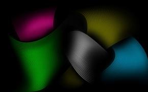 Wallpaper color, tape, line