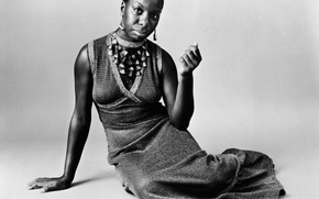Picture singer, musician, Nina Simone
