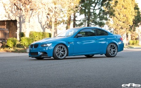 Picture bmw, BMW, drives, blue, blue, bbs, e92, laguna seca