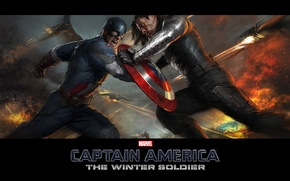 Picture Captain America, Chris Evans, The first avenger, Chris Evans, The Winter Soldier, Another voina