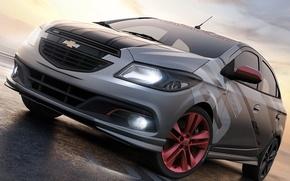 Picture car, Concept, Chevrolet, front, Onix