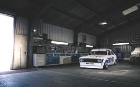 Picture garage, ford, Ford, escort, escort
