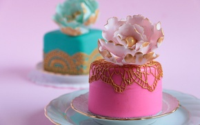Picture decoration, cake, sweet, Cake, Sweets