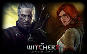 Picture the Witcher, Geralt, Tris