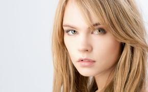Picture look, girl, face, sweetheart, model, hair, lips, beauty, brown hair, Rus, Nastya, Anastasia Shcheglova, Nastya …