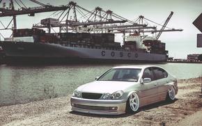 Picture ship, port, lexus, Lexus, gs300