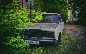 Picture leaves, Lada, Lada, lada. vaz. 2107