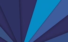Picture line, blue, blue, design, color, material