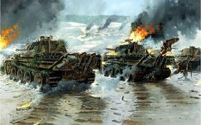 Picture Panther, tank, Belgium, 1944