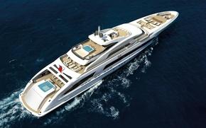 Picture sea, yacht, super yacht, mega yacht, motor yacht
