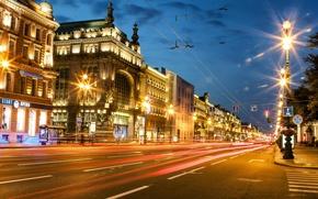 Picture street, Peter, Saint Petersburg, Russia, Russia, SPb, St. Petersburg, Nevsky Prospekt, spb