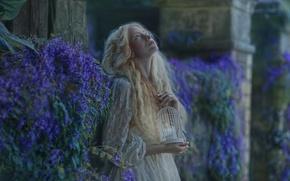 Picture girl, fantasy, art, Hope, Ellie, Agnieszka Lorek