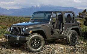 Picture SUV, car, Wrangler, Jeep