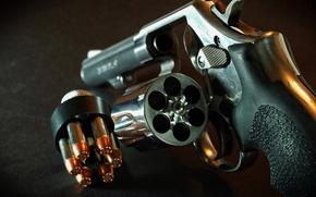 Picture cartridges, drum, Revolver, firearms