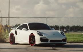 Picture Porsche, Turbo, 991, on ADV.1 ADV7 Track Spec CS