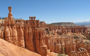Picture canyon, America, Bryce canyon