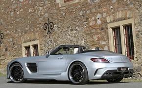 Picture car, machine, Mercedes-Benz, AMG, SLS, tuning, Borrasca, Inden-Design