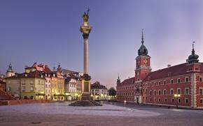 Wallpaper Europe, the city, Poland, Warsaw, area